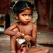 little girl in sonargaon