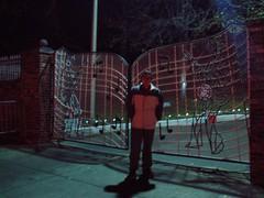 Timothy in front of Real Graceland Entrance (tbertor1) Tags: 2005 christmas bridge river mississippi december memphis tennessee 23 graceland desoto tulio bertorini tuliobertorini