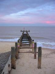 groyne (estherase) Tags: wood pink blue sea 15fav favorite beach print geotagged suffolk sand findleastinteresting shingle wave fave explore favourite groyne 110fav southwold canonixus400 myfave myfaves faved emssimp moocard geo:lat=52330304 geo:lon=1684792 moocards esthersfaves 250311