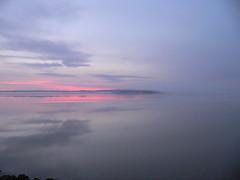 Rosy Dawn Fog Fadeout (Larry Price) Tags: eugene oregon usa fernridge sunrise fog geese