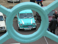 railings (estherase) Tags: blue 15fav favorite cars car topv111 1025fav circle geotagged brighton findleastinteresting rally shapes rail mini fave explore lucky cooper round minicooper railing seafront flickrzen favourite 110fav canonixus400 photodomino98 londontobrighton faved geo:lon=0129905 emssimp geo:lat=50818639 estheresque 250311