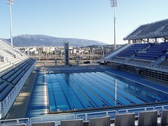 Olympic Pool (RobW_) Tags: 2005 pool march stadium games athens greece olympic olympics athens2004 mar2005 oaka 11mar2005 maroussi