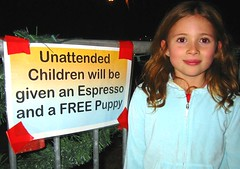 """Unattended"" (Stitcher) Tags: children espresso freepuppies santasvillage fillmore interestingness onny"