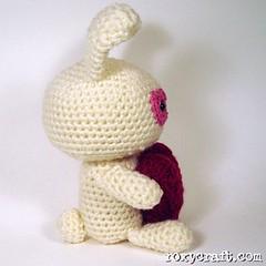 love bunny4 (Roxycraft) Tags: amigurumi softies plush mos crochet handmade
