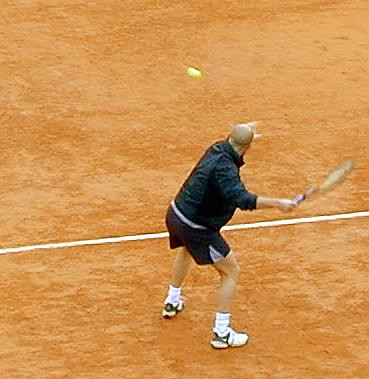 Andre Agassi by aasmund