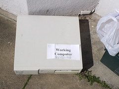 Working Computer (jem) Tags: brighton outoforder freecycle