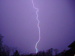 lightning snapshot (earthsound) Tags: lightning thunderstorm storm severeweather clouds electricity night bolt sky birmingham alabama rain strike topv111 ilovenature wow