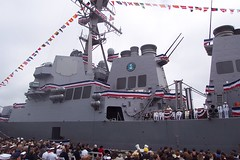 USS McCampbell (DDG-85) commissioning ceremony; San Francisco; April 17, 2002 (Telstar Logistics) Tags: sanfrancisco ship usnavy commissioning ddg85 ussmccampbell mccampbell