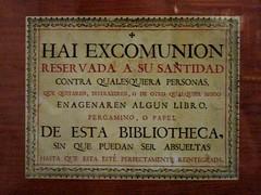 Viceroyalty's Museum (rageforst) Tags: signs billboards mexico tepotzotlan religion library warnings simbolos lafotodelasemana lfssimbolos