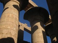 Karnak Temple - The Great Hypostyle Hall (becklectic) Tags: 2005 egypt 123 karnak luxor lightshadow views100 upperegypt worldtrekker