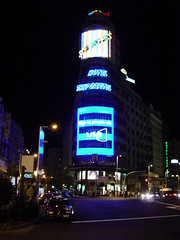 Luminosos de la Plaza de Callao