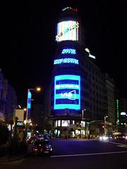 Luminosos de la Plaza de Callao