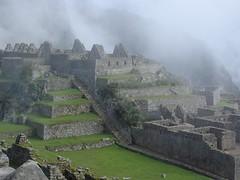 Part of Machu Picchu