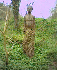 Green Man (Melmoth the Wanderer) Tags: uk green art statue pic gloucestershire keep lose nailsworth keep2 lose2 lose3 lose4 lose5