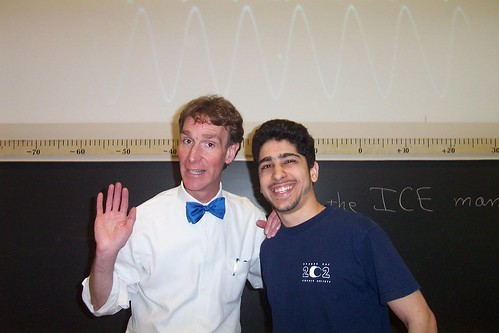 Bill Nye and I