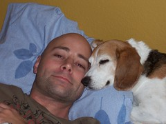 Ben & The Boy (Lisas Lounge) Tags: dog love beagle elway