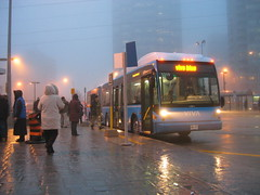 IMG_9671 (djp3000) Tags: toronto fog rain bus canonpowershots45 northyork vivablue yrt yorkregiontransit publictransit publictransport