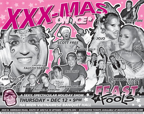 Feast of Fools Poster: XXXMas On Ice