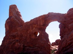 Turret Arch, Arches National Park, Utah (hanneorla) Tags: park 2004 utah arch arches national turret hanneorla