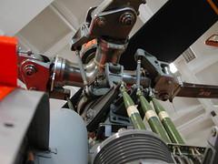 2003 people museum germany munich münchen geotagged bayern deutschland bavaria leute menschen september helicopter eurocopter rotor deutschesmuseum mbb bo105 swashplate geo:lat=48129578 geo:lon=1158283