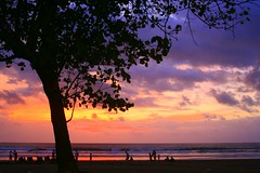 a sunset to remember - bali, indonesia (chillntravel) Tags: bali indonesia travel sunset asia southeastasia seminyak