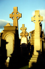 shadows (drl.) Tags: cemetery scotland findleastinteresting cross glasgow top20hallfame erect purged purge92 purge125