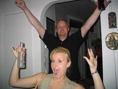we like to party (hbomb1947 the turnstile-jumper) Tags: people myapartment party happy jon veronica vengaboys weliketoparty smirnoffice nyc newyork newyorkcity manhattan uppereastside soiree 2004 november2004 henryviii kinghenryviii imhenryviiiiam topv111