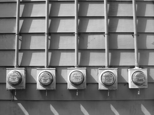 meters wall mundane bw blackandwhite