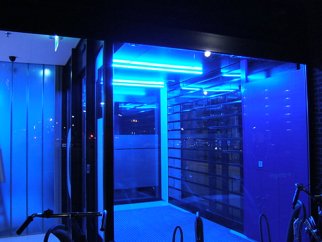 blue office