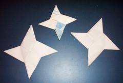 Shuriken1 Umafreak Tags Origami Shuriken Estrella Ninja Star
