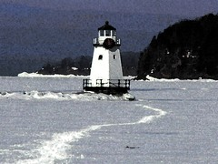 Light House on Lake Champlain