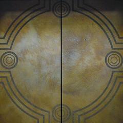 squared circle - elevator doors (Thom Watson) Tags: elevator museum washington dc doors design squaredcircle circles metal abstract nmai nationalmuseumoftheamericanindian smithsonian squaredcirclewithin