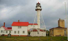 Whitefish Station (joeldinda) Tags: promotion lighthouses greatlakes upperpeninsula lakesuperior whitefishpoint whitefishpointlighthouse joeldinda michiganlighthouse