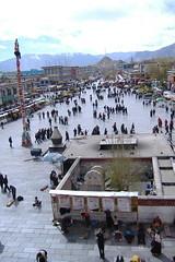 The Barkhor (digitalia) Tags: china vanessa square religion buddhism tibet communism monastery lhasa circuit jokhang pilgrimage pilgrim notphotoshopped xyz barkhor notcropped notaltered