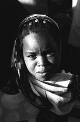 Beautiful (BoazImages) Tags: africa light portrait bw black girl beautiful topv111 blackwhite pretty forsakenpeople horn ethiopia hornofafrica theface harar