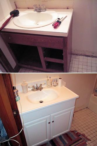 Ranch Bathroom Vanity