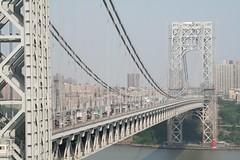 George Washington Bridge (parvapax) Tags: newyork georgewashingtonbridge brittaundricardoinnewyork