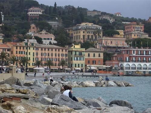 Italy, Liguria, small village; Italia, Liguria, paesino