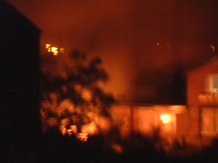 flaming June (crunklygill) Tags: night destruction carfire firebrigade flamingjune