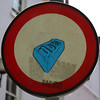 sign (Leo Reynolds) Tags: squaredcircle 10up3 17000th sqset010 canon eos 350d 0003sec f5 iso100 65mm 0ev xleol30x hpexif xratio1x1x xsquarex sign xx2006xx signtraffic