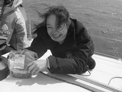 Zhu Sha Sailing (Pat Rioux) Tags: barcelona people sailboat circus staff artists acrobats cirque cirquedusoleil dralion aroundtheworld europeantour