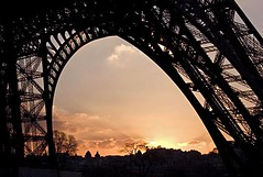 Rita Crane Photography: France / Paris / Eiffel Tower  / sunset / / Eiffel Tower Silhouette, Paris (Rita Crane Photography) Tags: sunset urban paris france colors silhouette architecture stock eiffeltower explore toureiffel visit75007 urbanlandscape stockphotography ritacrane superbmasterpiece ritacranephotography wwwritacranestudiocom thegoldendreams