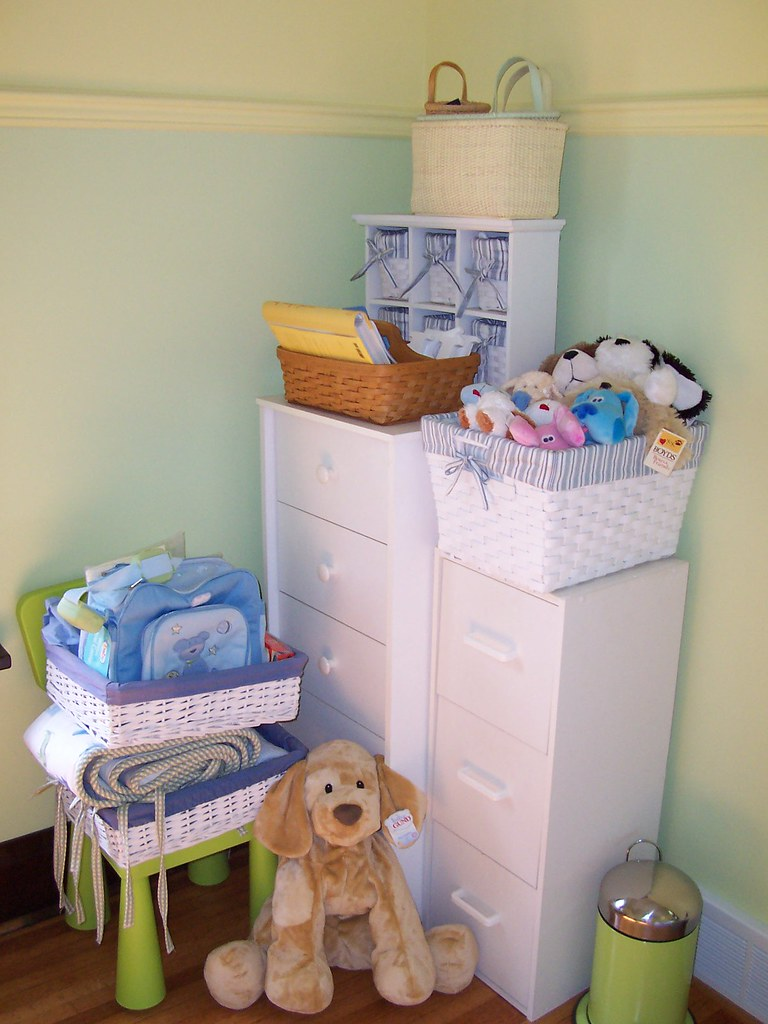 Dressers, Baskets, Puppies, Etc.