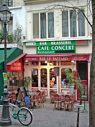 bastille district paris france
