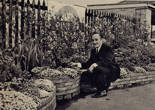 Pinner London Underground Station Garden Winner 1966