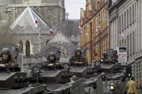 Parade in Dublin, Easter 2006
