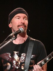 The Edge, 11\14\05, Miami, Florida, American Airlines Arena (bonobaltimore) Tags: u2 theedge miamiflorida vertigotour2005 bonobaltimore november142005 americanairlinesarena michaelkurman mikekurman