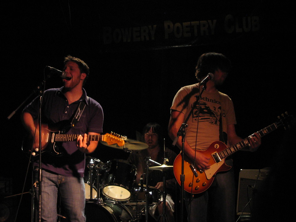 Seth Kallen & The Reaction @ Bowery Poetry Club