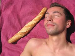 Hervé with baguette (M 4 X) Tags: de piscine sceaux