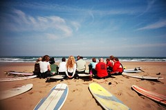pow wow (czuczy) Tags: surfing morocco lesson bigfriday